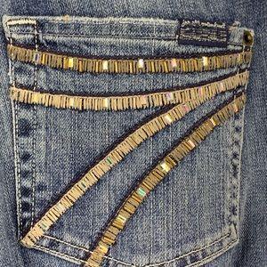 7 for all mankind Dojo women's jeans denim size 33